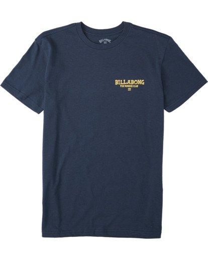 0 Boys' (2-7) Pier Bomber Short Sleeve T-Shirt Blue K4043BPB Billabong