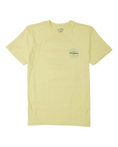 1 Boys' (2-7) Rotor T-Shirt Yellow K4043BRO Billabong
