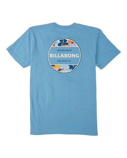 1 Boys' (2-7) Rotor T-Shirt Grey K4043BRO Billabong