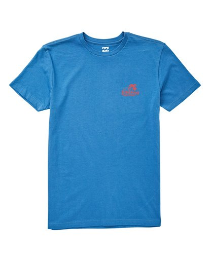 0 Boys' (2-7) Foxtail T-Shirt Blue K404UBFO Billabong