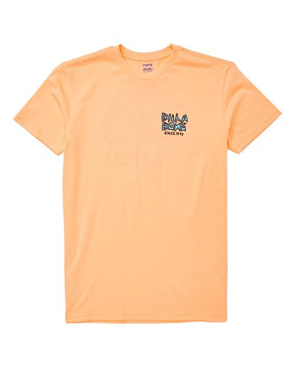 0 Boys' (2-7) Fishtail T-Shirt Orange K404UBFT Billabong
