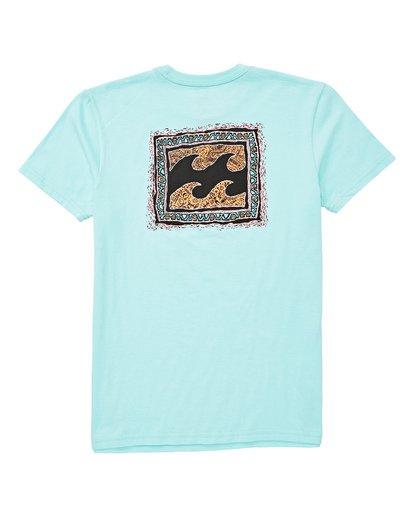 1 Boys' (2-7) Warp T-Shirt Blue K404UBWA Billabong