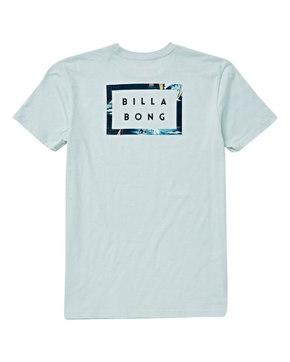 1 Boys' (2-7) Diecut T-Shirt Blue K404VBDC Billabong