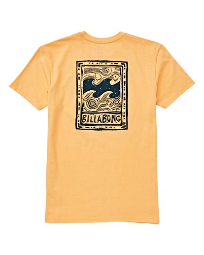 1 Boys' (2-7) Icon T-Shirt Orange K404VBIC Billabong