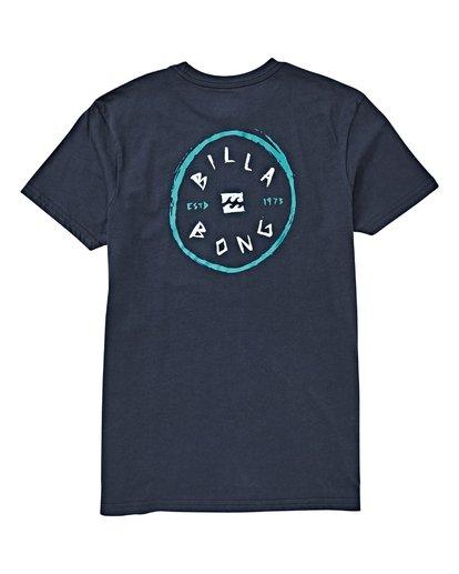 1 Boys' (2-7) Rotohand T-Shirt Blue K404VBRH Billabong