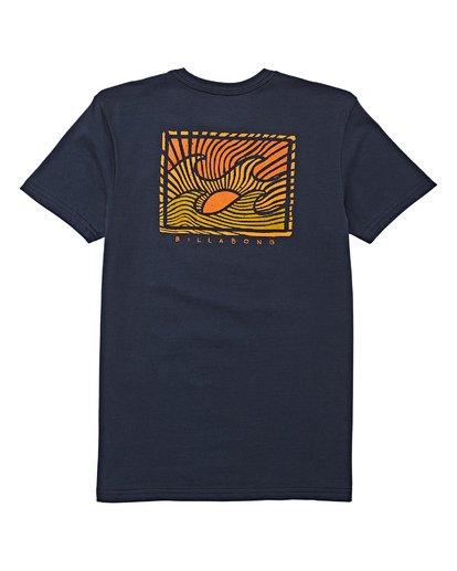 1 Boys' (2-7) Dawn Patrol Short Sleeve T-Shirt Blue K404WBDP Billabong