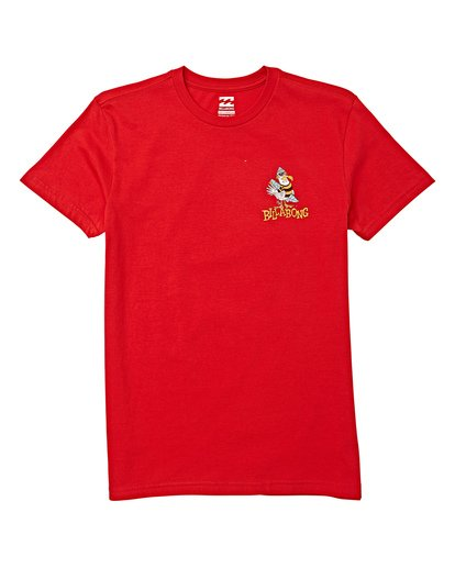 0 Boys' (2-7) Local Short Sleeve T-Shirt Red K404WBLO Billabong