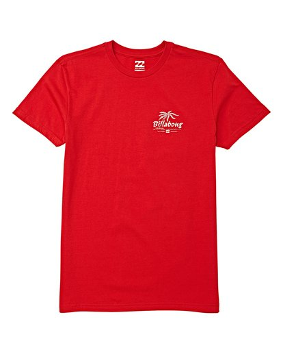 0 Boys' (2-7) Club Short Sleeve T-Shirt Red K404WBPH Billabong