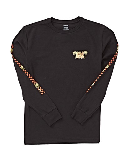 1 Boys' (2-7) Calypso Long Sleeve T-Shirt Black K405VBCA Billabong