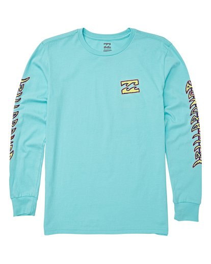 0 Boys' (2-7) Fifty Wave Short Sleeve T-Shirt Grey K405WBFI Billabong