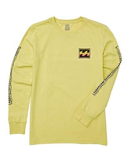1 Boys' (2-7) Monkey Biz Short Sleeve T-Shirt Green K405WBFW Billabong