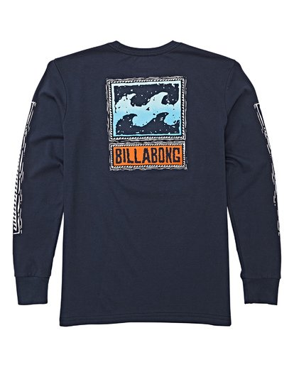 2 Boys' (2-7) Monkey Biz Short Sleeve T-Shirt Blue K405WBFW Billabong