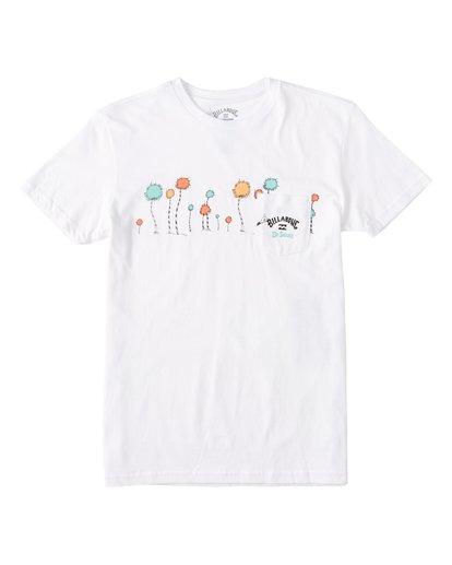 0 Boys' (2-7) Truffula T-Shirt White K4372BTR Billabong