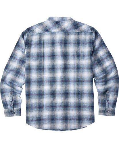 1 Boys' (2-7) Coastline Long Sleeve Shirt Blue K5323BCO Billabong