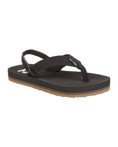 3 Boys' (2-7) Stoked Sandals Black KFOT1BST Billabong