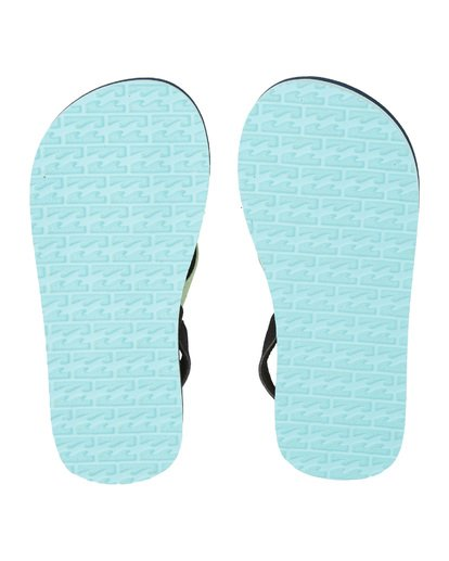 7 Boys' (2-7) Stoked Sandals Blue KFOT1BST Billabong