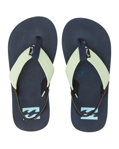 4 Boys' (2-7) Stoked Sandals Blue KFOT1BST Billabong