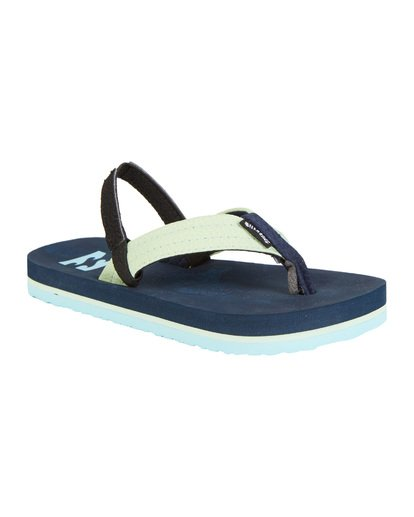 6 Boys' (2-7) Stoked Sandals Blue KFOT1BST Billabong