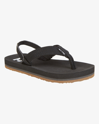 0 Boys' (2-7) Stoked Sandals Black KFOT1BST Billabong