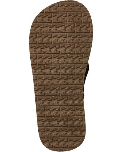 4 Boys' (2-7) Stocked Kids Sandals Black KFOTNBST Billabong