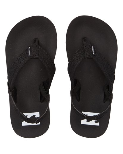1 Boys' (2-7) Stocked Kids Sandals Black KFOTNBST Billabong
