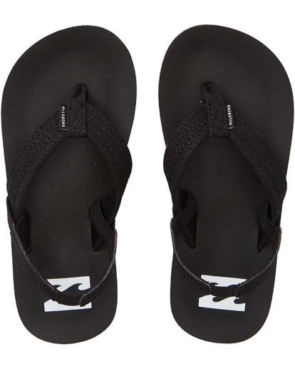0 Boys' (2-7) Stocked Kids Sandals Black KFOTNBST Billabong