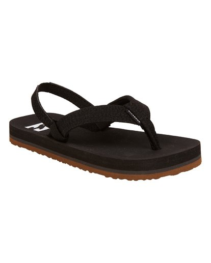 3 Boys' (2-7) Stocked Kids Sandals Black KFOTNBST Billabong