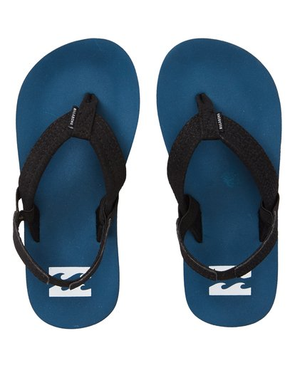 1 Boys' (2-7) Stocked Kids Sandals Blue KFOTNBST Billabong