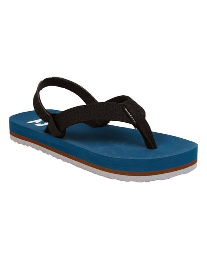 3 Boys' (2-7) Stocked Kids Sandals Blue KFOTNBST Billabong