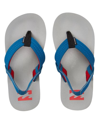 1 Boys' (2-7) Stocked Kids Sandals Grey KFOTNBST Billabong