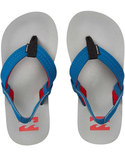0 Boys' (2-7) Stocked Kids Sandals Grey KFOTNBST Billabong