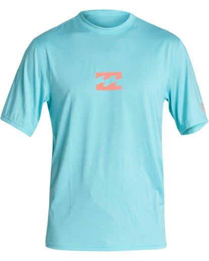 0 Boys' (2-7) All Day Wave Loose Fit Short Sleeve Surf Shirt Orange KR011BAL Billabong