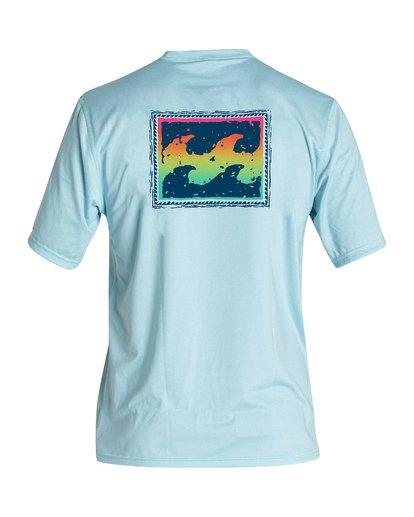 1 Boys' (2-7) Warchild Loose Fit Short Sleeve Surf Shirt Multicolor KR011BWC Billabong