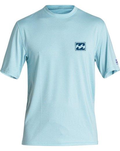 0 Boys' (2-7) Warchild Loose Fit Short Sleeve Surf Shirt Multicolor KR011BWC Billabong