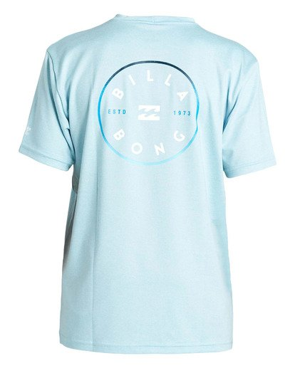 1 Boys' (2-7) Rotor Loose Fit Short Sleeve Rashguard Multicolor KR013BRO Billabong