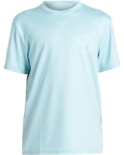 0 Boys' (2-7) Rotor Loose Fit Short Sleeve Rashguard Multicolor KR013BRO Billabong