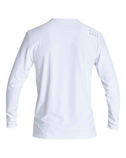 1 Boys' (2-7) All Day Wave Loose Fit Long Sleeve Surf Shirt White KR591BAL Billabong