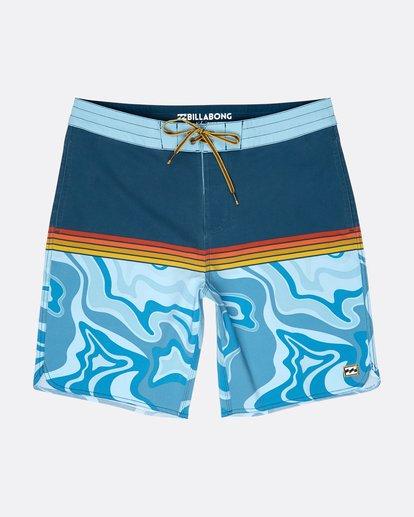 0 Fifty50 Lo Tides 18'' Boardshorts Bleu L1BS08BIF8 Billabong