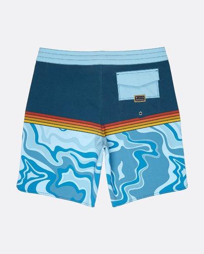 1 Fifty50 Lo Tides 18'' Boardshorts Bleu L1BS08BIF8 Billabong