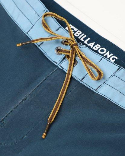 3 Fifty50 Lo Tides 18'' Boardshorts Bleu L1BS08BIF8 Billabong