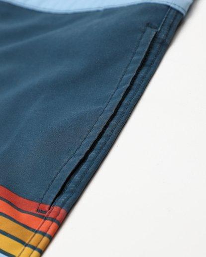 4 Fifty50 Lo Tides 18'' Boardshorts Bleu L1BS08BIF8 Billabong