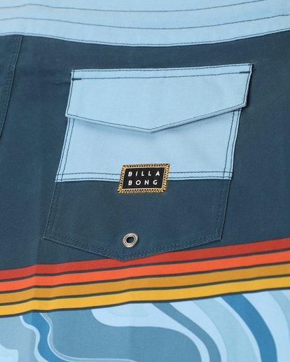 5 Fifty50 Lo Tides 18'' Boardshorts Bleu L1BS08BIF8 Billabong