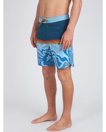 7 Fifty50 Lo Tides 18'' Boardshorts Bleu L1BS08BIF8 Billabong