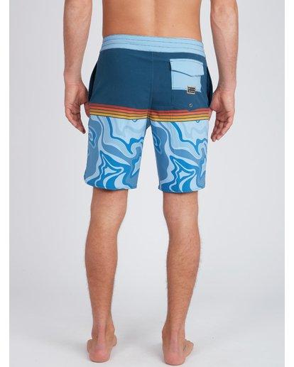 8 Fifty50 Lo Tides 18'' Boardshorts Bleu L1BS08BIF8 Billabong