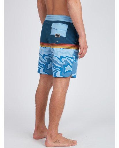 9 Fifty50 Lo Tides 18'' Boardshorts Bleu L1BS08BIF8 Billabong