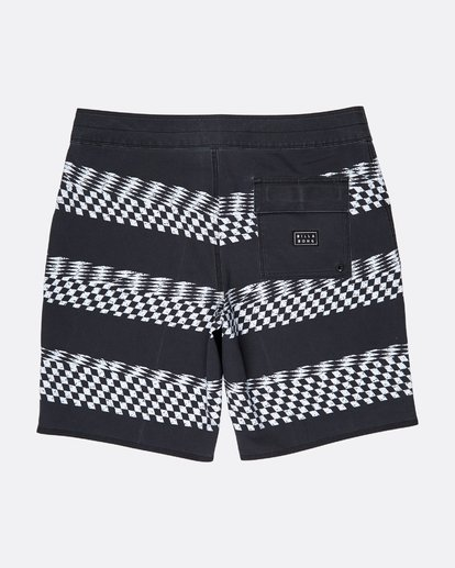1 Sundays X Stripe 18'' Boardshorts Noir L1BS09BIF8 Billabong