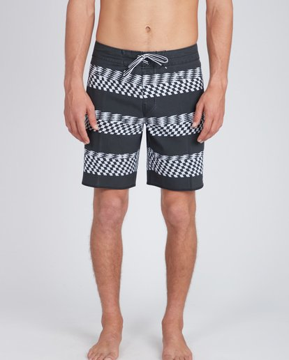 5 Sundays X Stripe 18'' Boardshorts Noir L1BS09BIF8 Billabong