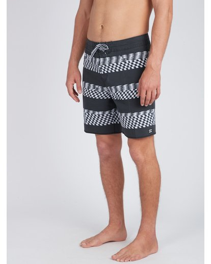 6 Sundays X Stripe 18'' Boardshorts Noir L1BS09BIF8 Billabong