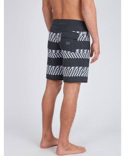 8 Sundays X Stripe 18'' Boardshorts Noir L1BS09BIF8 Billabong