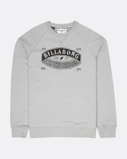 0 Guardiant Crew Sweatshirt Gris L1CR01BIF8 Billabong